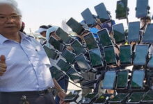 Photo of Pokémon GO: el abuelo juega con teléfonos de montaña que son más grandes que él