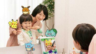 Photo of Pokemon Smile es una aplicación para ayudar a los niños a cepillarse los dientes
