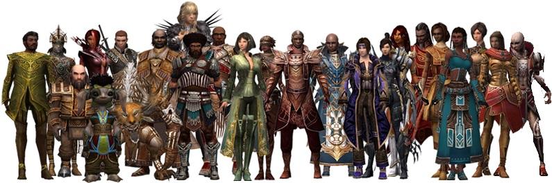 Todos los héroes en Guild Wars 1
