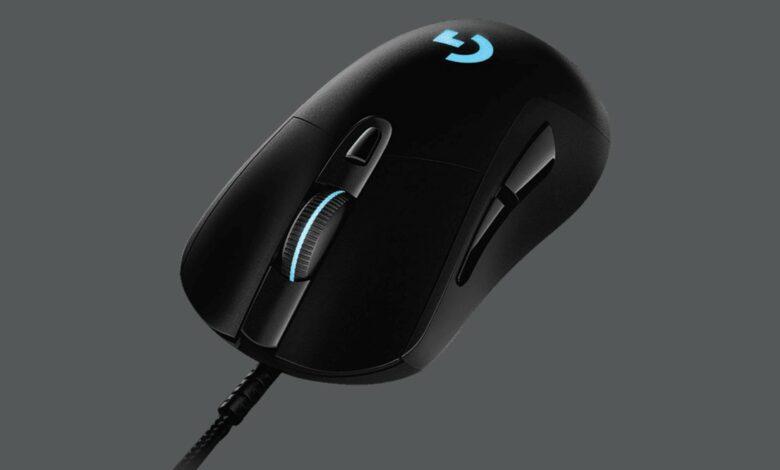 Ratón para juegos Logitech G403 HERO popular actualmente barato en Amazon