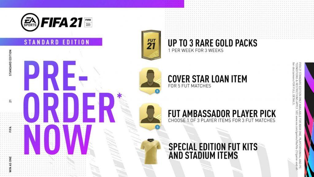 Edición estándar FIFA 21