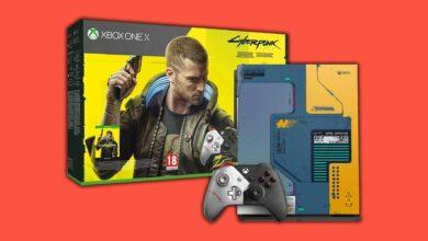 Reserva ahora la edición limitada de Xbox One X Cyberpunk 2077 ahora