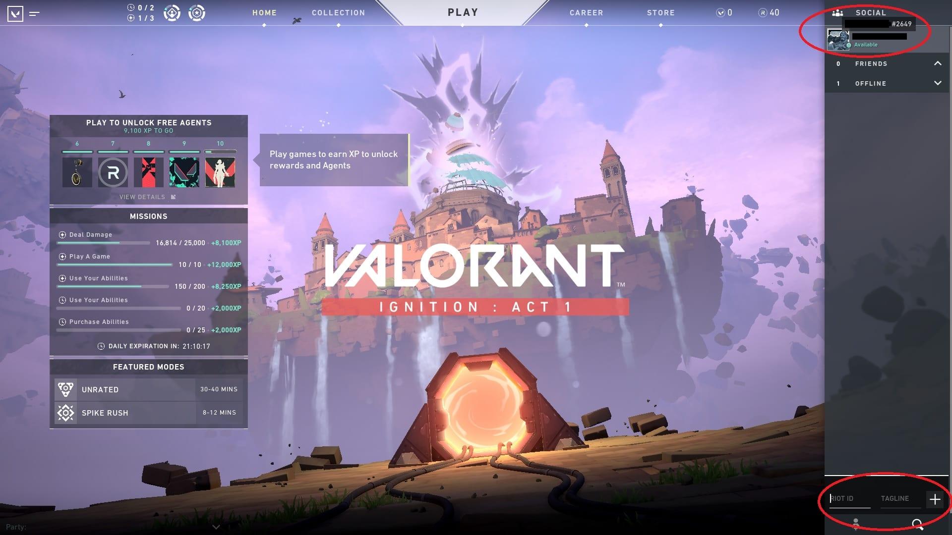 Cómo agregar amigos a Valorant