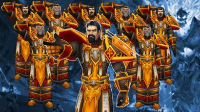Photo of WoW: 40 palas con 14 armas legendarias limpian el núcleo fundido