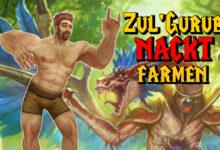 WoW Classic: este paladín cultiva en solitario en Zul Gurub, ¡y eso desnudo!