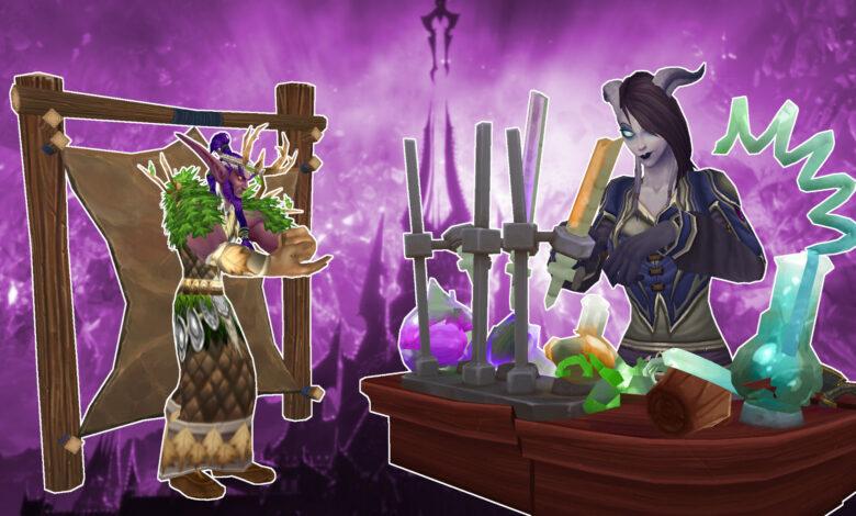 WoW Shadowlands: Crafting será útil: estos efectos geniales están llegando