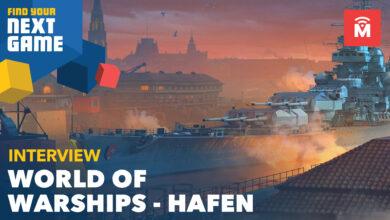 World of Warships: vea cómo se construye su barco en el puerto de Hamburgo