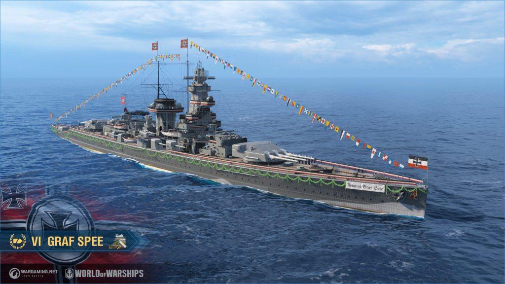 Buques de guerra Graf Spee 01