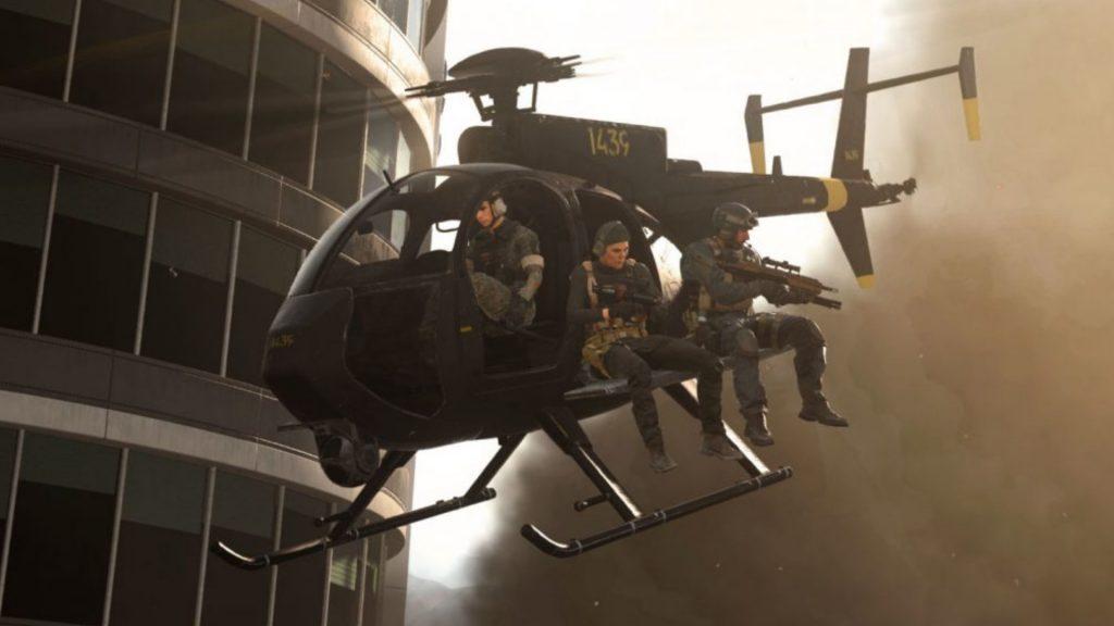 Helicóptero CoD Warzone