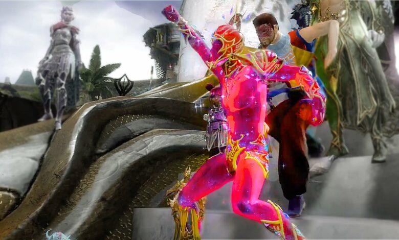 Los jugadores de MMORPG celebran la diversidad en Guild Wars 2 de manera colorida y con espectáculo