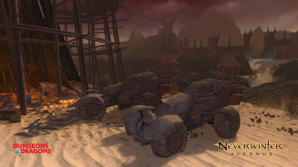 Neverwinter Avernus Infernal Machines.