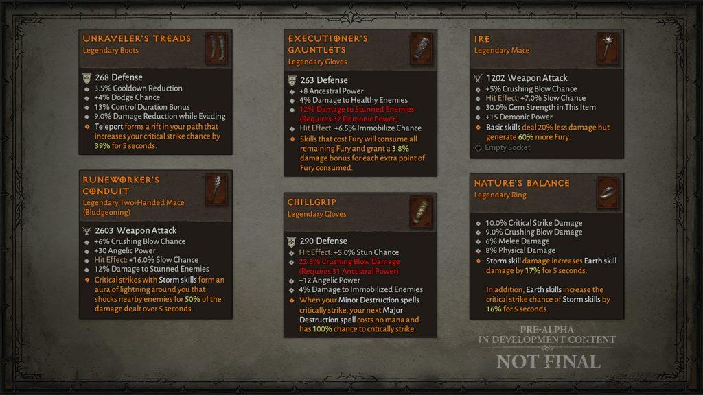 Diablo 4 Items Legendary 2