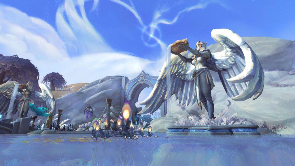 Panorama 2 del Bastión de las Tierras Sombrías de WoW