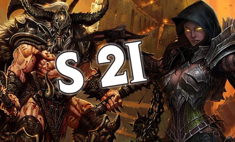 Diablo 3 Temporada 21: Mejores clases, mejores construcciones - Lista de niveles