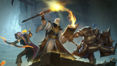Albion Online te permite atacar enemigos en mazmorras como Dark Souls