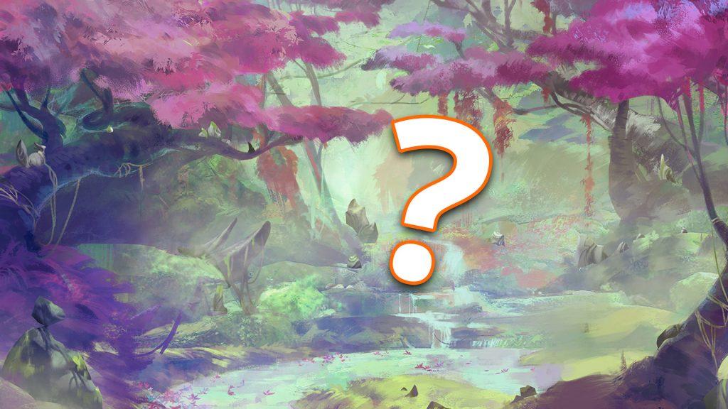 LoL bosque signo de interrogación título Lillia