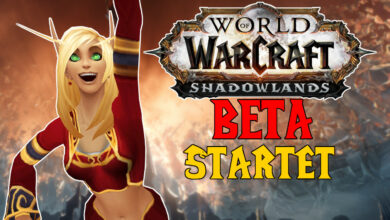 WoW Shadowlands: Beta comienza! Todo lo que necesitas saber