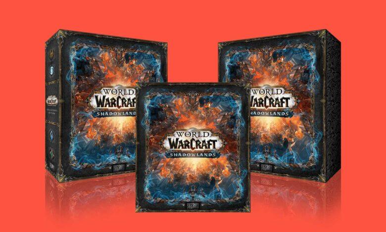 Pre-orden WoW Shadowlands Collector's Edition: este es el contenido