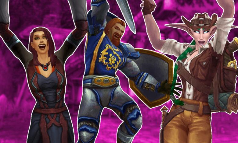 WoW: con Shadowlands, muchos NPC en el juego se vuelven más diversos