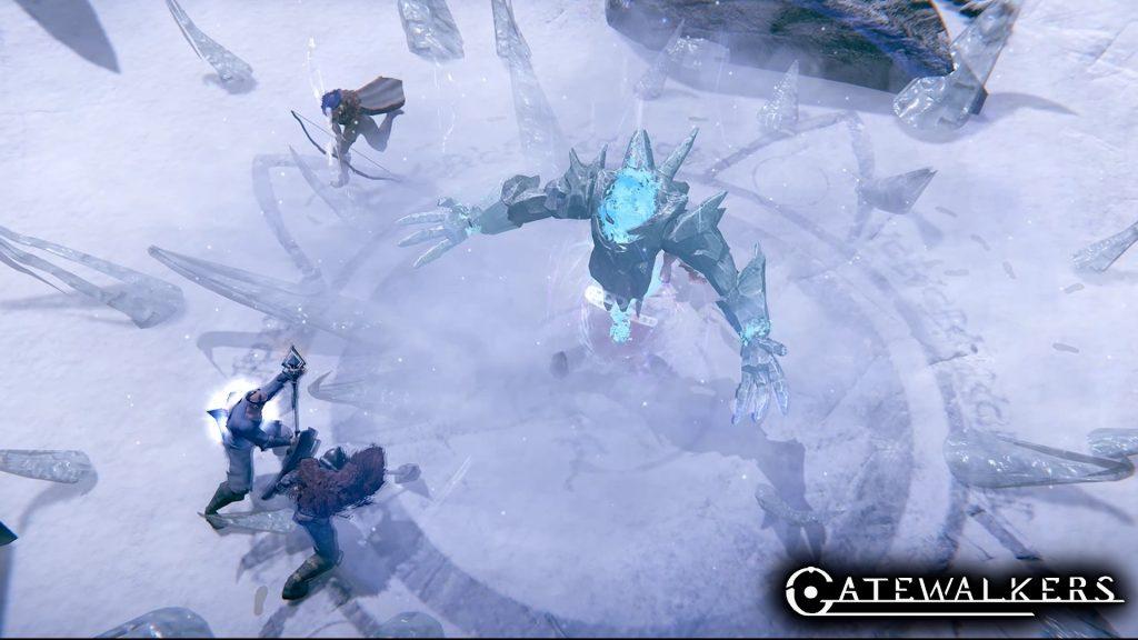 Captura de pantalla de Gatewalkers ice cream boss