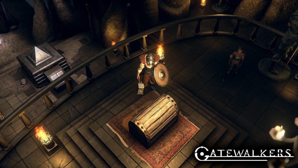 Gatewalkers captura de pantalla máscara de gas