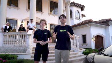 Photo of 6 Fortnite-YouTubers compran una villa y la muestran con orgullo, esto desencadena una discusión