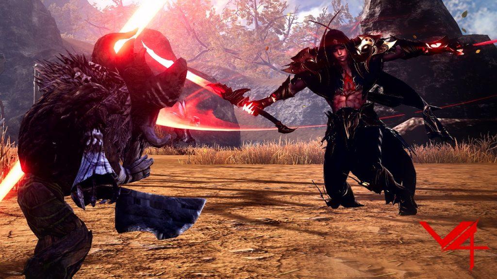 Captura de pantalla de V4 MMORPG