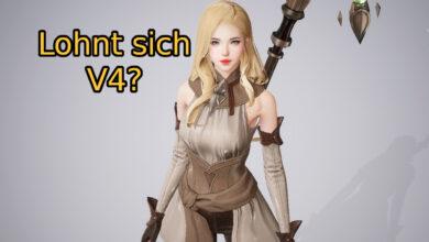 Jugamos el nuevo MMORPG V4. Puede esperar que