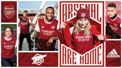 FIFA 21: el kit del Arsenal para la temporada 2020/21 ha sido presentado