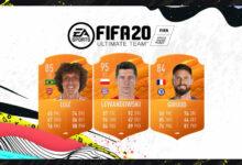 FIFA 20: MOTM - Nuevas tarjetas Man Match disponibles - 25 de julio
