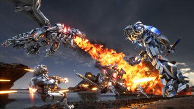 El nuevo tirador Free2Play te permite controlar robots gigantes y luchar contra dragones metálicos