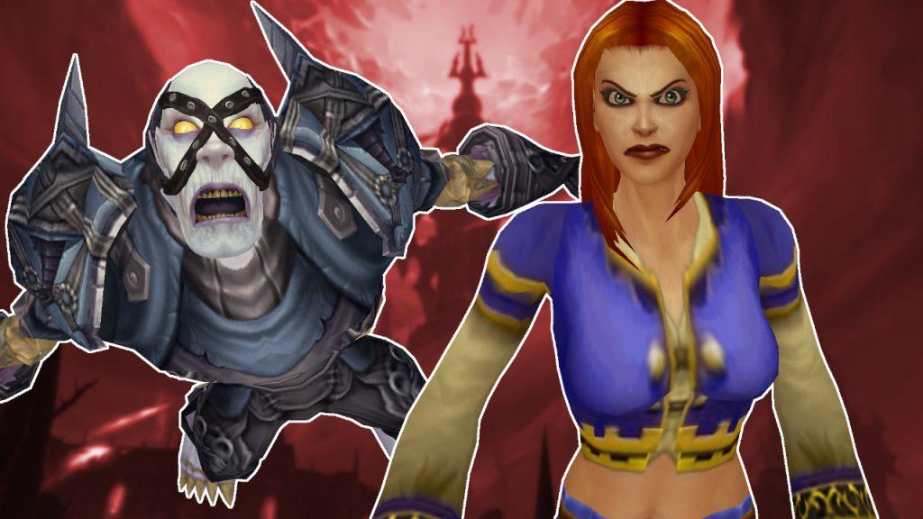 WoW Undead masculino humano femenino enojado shadowlands título título 1280x720