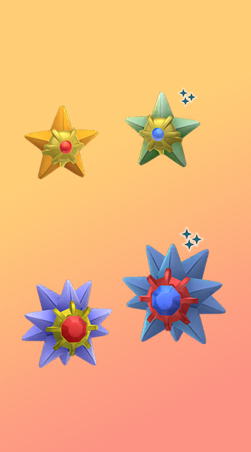 Pokémon GO Shiny Star You