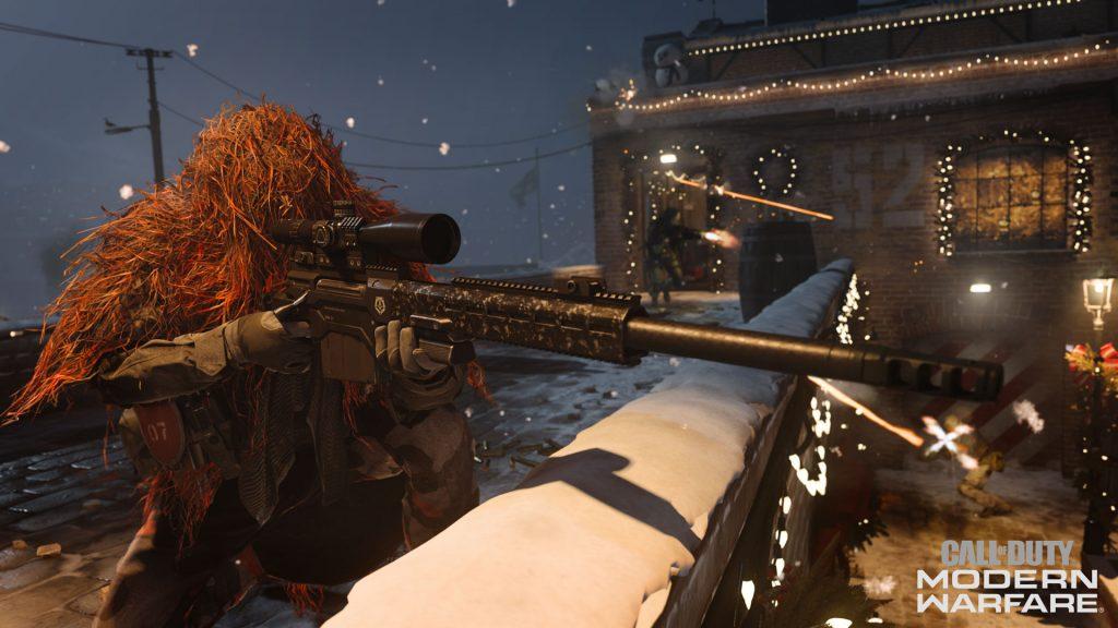 bacalao guerra moderna muelles de invierno francotirador