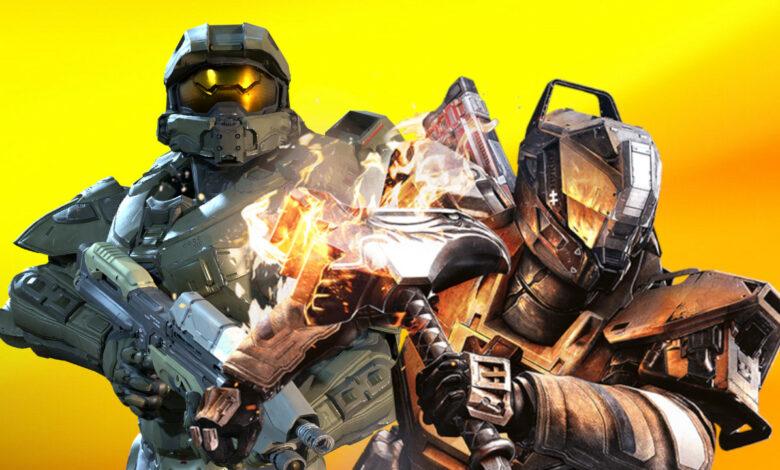 El video de juego compara: Destiny 2 vs. el nuevo Halo Infinite