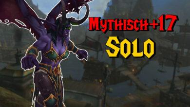 WoW: 6 horas solo en la mazmorra, el jugador descifra Mythical +17 solo