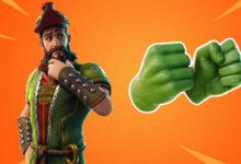 Fortnite presenta el crossover Marvel, por lo que obtienes guantes Hulk geniales