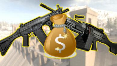 2 de las mejores armas en CoD Warzone están prácticamente detrás de un muro de pago