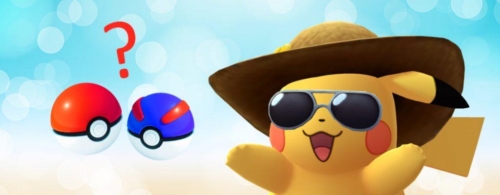 Pokemon GO bolas Pikachu