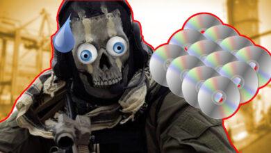Photo of Adivina cuántos CD necesitaría el gordo Call of Duty MW