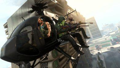 Así que efectivamente esquivas misiles en el helicóptero en CoD Warzone