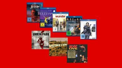 Blu-rays, DVD y CD actualmente con descuento en MediaMarkt