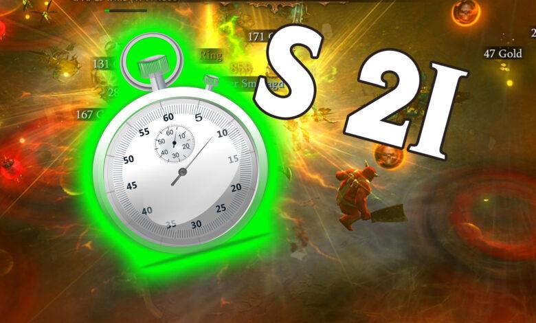 Diablo 3: Guía de nivel para la temporada 21 - Rápido a 70