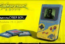 Photo of Echa un vistazo a Nightcity Cyber Boy, un Game Boy con temática Cyberpunk 2077 que se ve ridículamente elegante