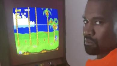 Photo of El videoclip de Kanye West Playing Sonic 2 es demasiado saludable