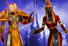 Elfos negros en World of Warcraft: ¿por qué es tan difícil para ti?