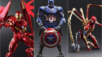 Photo of Estas figuras de Marvel fueron diseñadas por Kingdom Hearts Creator; Para reservar ahora