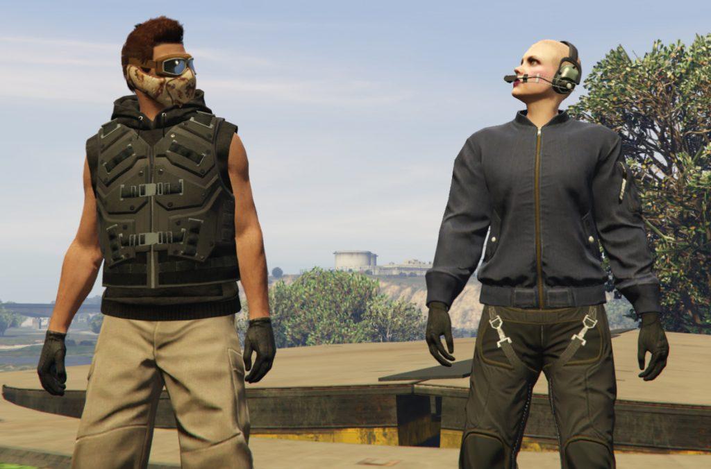 GTA Online Heist sin pelo