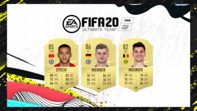 FIFA 20: Actualiza las transferencias de verano N ° 2