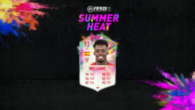 Photo of FIFA 20: Isco e Iñaki Williams Summer Heat disponibles en modo Draft